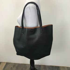 Sole Society Bags - Black Tote By Sole Society